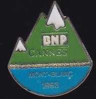 66573- Pin's-Banque.BNP Cannes Mont-blanc. - Banks