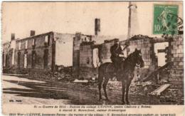 51em 929 CPA -L'EPINE -  GUERRE 1914 - RUINES DU VILLAGE - L'Epine
