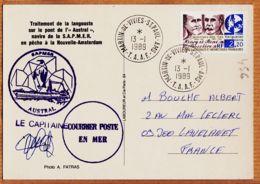 M139 NOUVELLE-AMSTERDAM Traitement LANGOUSTE Sur Pont De AUSTRAL SAPMER Pêche TAAF Photo FATRAS - TAAF : Territori Francesi Meridionali