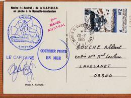 M145 NOUVELLE-AMSTERDAM  Navire Chalutier AUSTRAL 2em Marée Signature Capitaine SAPMER Pêche TAAF Photo FATRAS - TAAF : Territori Francesi Meridionali