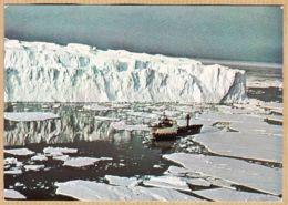 M227 THALA-DAN Devant ASTROLABE Mission TAAF Patrouilleur ALBATROS P-681 1985 MARTIN-de-VIVIES - Terre Australi E Antartiche Francesi (TAAF)