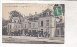 CPA DPT 78 MEULAN, GARGENVILLE, CHATEAU D HANNEUCOURT - Montigny Le Bretonneux