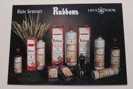 Oude Genever RUBBENS Stokerij Distillerie Langemuntstraat ZELE 9240 ( Zie Foto's ) ! - Alcoholes