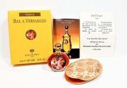 Miniatures De Parfum  BAL à VERSAILLES  De  JEAN DESPREZ  PARFUM 4 Ml + BOITE + POCHETTE TISSUS + NOTICE - Miniaturen Flesjes Dame (met Doos)