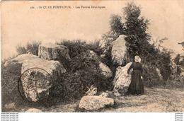 SAINT QUAY PORTRIEUX LES PIERRES DRUIDIQUES 1915 TBE - Saint-Quay-Portrieux