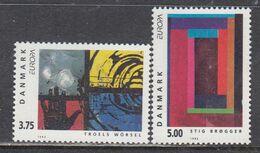 Denmark 1993 - EUROPA, Mi-Nr. 1052/53, MNH** - Danemark