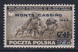 POLAND 1944 Monte Cassino Fi P338 Mint Hinged - Regering In Londen(Ballingschap)
