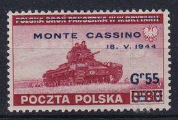 POLAND 1944 Monte Cassino Fi R338 Mint Hinged - Regering In Londen(Ballingschap)