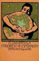 Esperanto Bern (3000) Schweiz IX. Universala Kongreso 1913 I-II - Esperanto