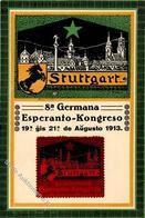 Esperanto Stuttgart (7000) 8. Germana Esperanto Kongreso 1913 I-II - Esperanto