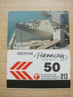 Custom-print Issued Autelca Phonecard,Cultural Center, Set Of 1, Mint, Issued In 1990 - Hongkong