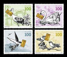 Switzerland 2020 Mih. 2663/66 Fauna. Birds. Special Events MNH ** - Ungebraucht
