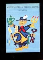 Auriac 8è Foire à La Brocante Allanche Cantal 1984 - Andere Zeichner