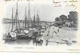 BAYONNE : VUE DU PORT - Bayonne