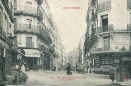 N°3603 R -cpa Paris -rue Condorcet à La Rue Rodier- - Distrito: 09
