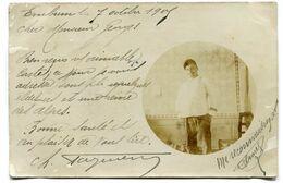 CPA - Carte Postale - Portrait D'Homme - Embrun La 7 Octobre 1905 (D13702) - Männer