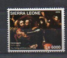 "Caravaggio - ""The Taking Of Christ"", 1602 (Sierra Leone 2016) - MNH (1W0314) - Arts"