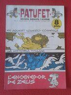 ANTIGUA REVISTA MAGAZINE COMIC INFANTIL I Y JUVENIL PATUFET Nº 149 23 FEBRER 1973 ZEUS EN CATALÁN CATALONIA CATALUNYA... - Comics (other Languages)