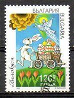 BULGARIE. N°3763 Oblitéré De 1998. Lapin De Pâques. - Ostern