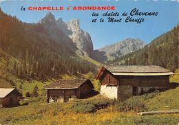 La CHAPELLE-d'ABONDANCE - Les Chalets De Chevenne Et Le Mont Chauffé - La Chapelle-d'Abondance