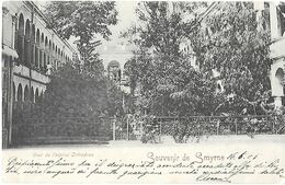 Turquie Turkey - Smyrne Izmir - Greek Hospital - Cour De L'Hopital Orthodoxe - PU In 1903 - Turkey