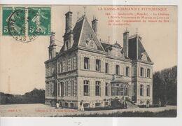 CPA-50-Manche- GOUBERVILLE- Le Château à Mme La Vicomtesse De Martel De Janville- - Frankrijk