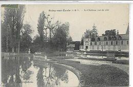 91, Essonne, SOISY-SUR-ECOLE, Le Chateau Vue De Coté,  Scan Recto-Verso - Francia