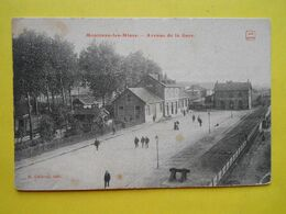 Montceau Les Mines ,avenue De La Gare - Montceau Les Mines