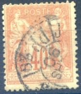 France N°94 Oblitéré Journaux PP - (F1850) - 1876-1898 Sage (Type II)