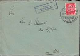 Landpost-Stempel Cheine über Salzwedel Auf Brief SSt SALZWEDEL Baumkuchen 1937 - Deutschland