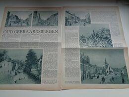 """Origineel Knipsel ( 2632 ) Uit Tijdschrift """"  De Stad """" 1936 :   Geeraardsbergen    Geraardsbergen - Alte Papiere"""