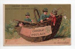 - CHROMO CHOCOLAT POULAIN - EN CONTREBANDE - - Poulain