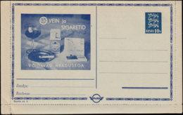 ESTONIE Entiers  CL - Type: 1928 10S Série: 8 Tabac*/photo/coton/bonbon*/caramel*/huile Auto/ - Estonia