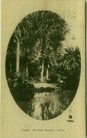 TRAPANI - VILLA REGINA MARGHERITA - LAGHETTO - EDIZIONE PATRICOLO - SPEDITA 1927 (5444) - Trapani