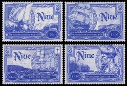 Niue 1999 - Mi-Nr. 918-921 ** - MNH - Schiffe / Ships - Niue