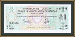 Argentina 1 Australes 1991 P-S2711b.1 UNC - Argentina