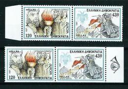 Grecia Nº 1928/31 Nuevo Cat.15€ - Unused Stamps