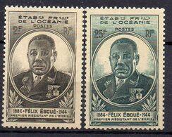 OCEANIE (  POSTE ) : Y&T  N°  180/181  TIMBRES  NEUFS  SANS  TRACE  DE  CHARNIERE  , A   SAISIR . 00 - Oceanía (1892-1958)