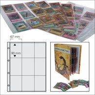 SAFE 5484 Ersatzblätter Für Sammel-, Sport- Und Autogrammkarten 9 Fächer 90x67 Mm - Altro Materiale