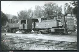 Photo - POC (Corrèze) - Mai 1958 - Locomotives 120 T N° 67 & Mallet N° 104 En Chauffe - Voir 2 Scans - Trains