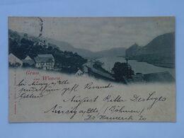 M138 Vanov Wanow Ústí Nad Labem Aussig železniční Koleje 1900 - Tchéquie