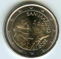 San Marin Marino 2 Euro 2020 UNC - San Marino