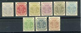 TRANSVALL (GB) : DIVERS -  N° Yvert 97/105 ** - Transvaal (1870-1909)