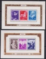 Belgie  .   OBP    .    Blok 27/28 (zegels: **)   .      *      .     Ongebruikt Met Gom   .   /   .   Neuf Avec Gomme - Blocks & Sheetlets 1924-1960