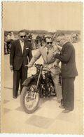 VECCHIA FOTO - OLD PHOTO - MOTORCYCLE - MALPENSA - 1948 - MOTO GUZZI 250 - GARA SOCIALE -A.M.C. GALLARATESE - Vedi Retro - Sporten