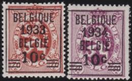 Belgie     .   OBP    .     375/376     .      *      .     Ongebruikt Met Gom   .   /   .   Neuf Avec Gomme - Unused Stamps