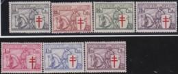 Belgie     .   OBP    .     394/400      .      *      .     Ongebruikt Met Gom   .   /   .   Neuf Avec Gomme - Unused Stamps