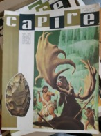 OLD ITALIAN MAGAZINE CAPIRE - 1966 COVER WITH PREHISTORIC AGES MAN NEANDERTHAL HUNTING - Books, Magazines, Comics