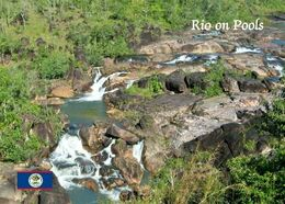 Belize Rio On Pools Falls New Postcard - Belize