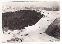 73 La Féclaz Entre Chambéry Et Aix Les Bains N°411.15 Piste Du Sire Vue Aérienne En 1966 - Chambery